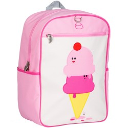 Big Kid Backpack: Dolce & Panna (Ice Cream)