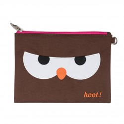 Travel Pouch: Papar (Owl)