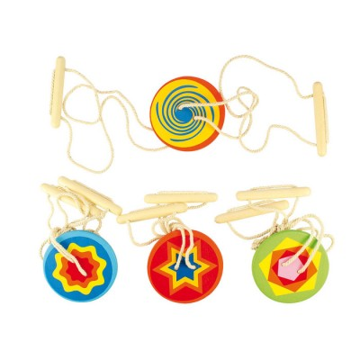 Wooden Spinners