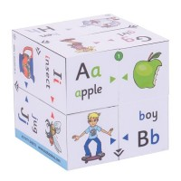 Alphabets - Phonics & Colour Matching - Cube Book
