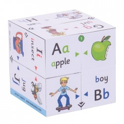 Zoobookoo Alphabets - Phonics & Colour Matching - Cube Book
