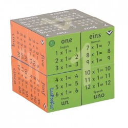 Zoobookoo Multiplication Tables - 1 to 12 - Cube Book