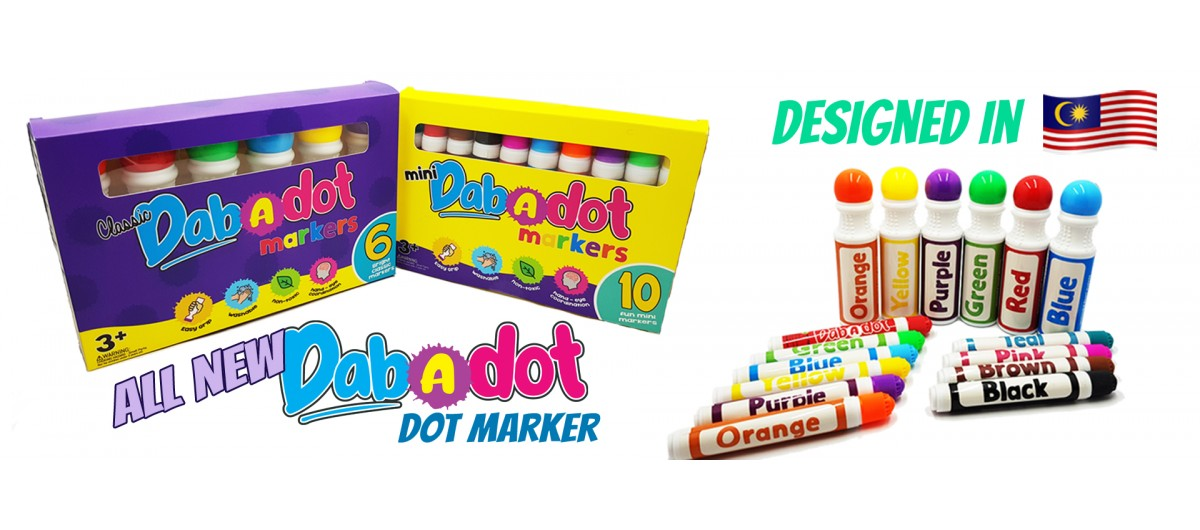 Dab-A-Dot Markers