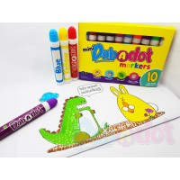 [Designed in Malaysia] DAB-A-DOT | Mini Dot Art Washable Markers | FREE Printables