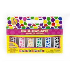 Mini Jewel Tone 6 Pack Dot Markers