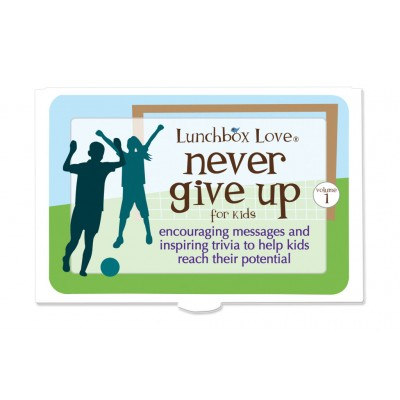 Lunchbox Love® Never Give Up Kids