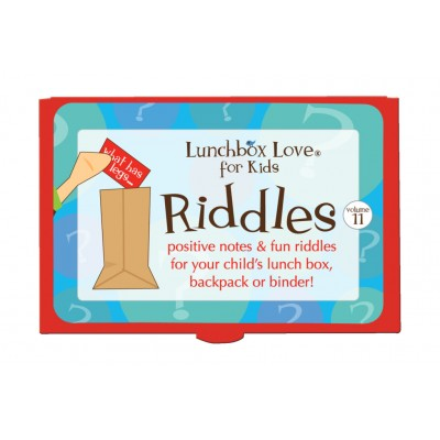 Lunchbox Love® For Kids Riddles Volume 11