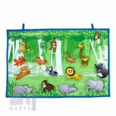 Wall Hanging - Wild Animal