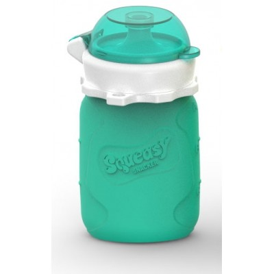 Squeasy Snacker 3.5oz - Aqua