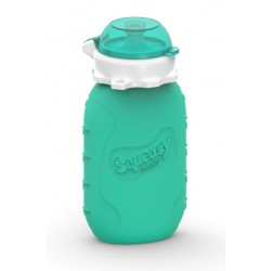 Squeasy Snacker 6oz - Aqua
