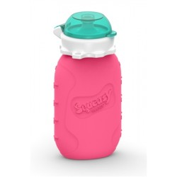 Squeasy Snacker 6oz - Pink