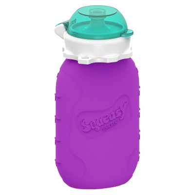 Squeasy Snacker 6oz - Purple