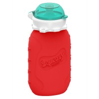 Squeasy Snacker 6oz - Red